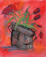 Tulip Pail Fine Art Print