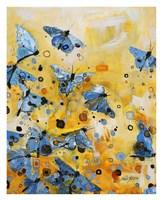 Metamorphosis Yellow Fine Art Print