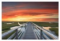 Greys Beach Sunset Fine Art Print