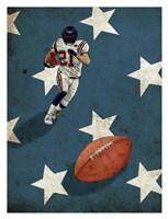 American Sports: Football 2 Fine Art Print