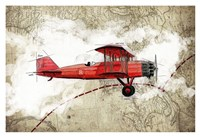 Biplane 3 Fine Art Print