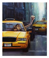 Rush Hour Fine Art Print