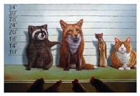 Usual Suspects Fine Art Print