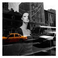 Urban Reflection Fine Art Print
