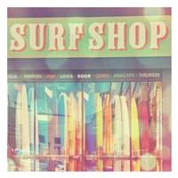 Seaside Summer Fine Art Print