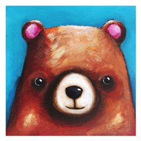The Brown Bear Fine Art Print