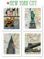 New York City Poster Fine Art Print