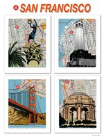 San Francisco Poster Fine Art Print