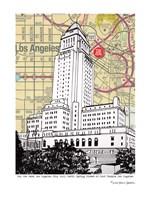 Los Angeles City Hall Fine Art Print