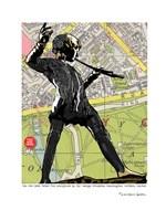 Peter Pan Sculpture London Fine Art Print