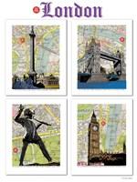 London Poster Fine Art Print