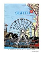 Seattle Great Wheel Fine Art Print