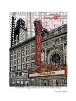Chicago Theatre Fine Art Print