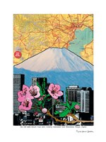 Fuji-Cherry and Downtown Fine Art Print