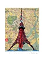 Tokyo Tower Fine Art Print