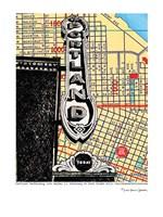 Portland Performing Arts Center Sign Fine Art Print