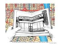 Powell's Books Portland Fine Art Print