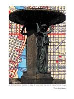Skidmore Fountain Portland Fine Art Print