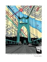 St. John's Bridge Portland Fine Art Print