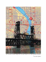 Steel Bridge Portland Fine Art Print