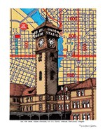 Union Station Portland Fine Art Print