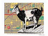 Urban Goat Portland Fine Art Print