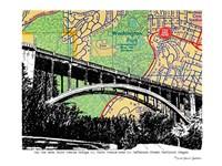 Vista Avenue Bridge Portland Fine Art Print