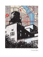 Water Tower Portland Fine Art Print