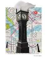 Gastown Clock Vancouver BC Fine Art Print