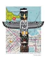 Totem Vancouver Fine Art Print