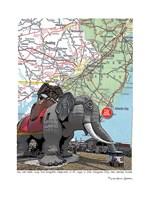 Jersey Shore Lucy Margate Elephant Fine Art Print