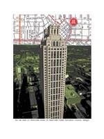 191 Peachtree Tower Fine Art Print