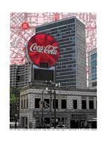 Coca Cola Atlanta, Georgia Fine Art Print