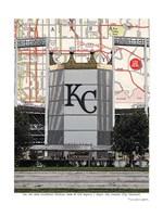 Kaufman Stadium Fine Art Print