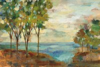 View of the Lake Fine Art Print