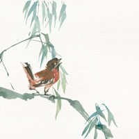 Russet Sparrow Fine Art Print