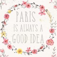 Paris Blooms IV Fine Art Print