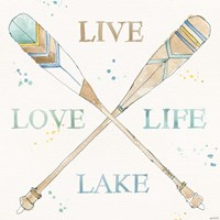 Lakehouse V Fine Art Print