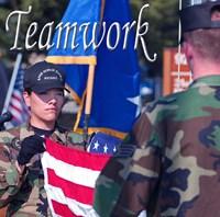 Teamwork Affirmation Detail Fine Art Print