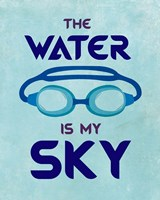 The Water is My Sky Fine Art Print