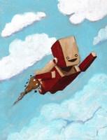 Rocket Bot Fine Art Print
