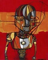 Segmented Man III Fine Art Print