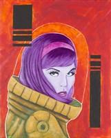 Astro-Anna I Fine Art Print