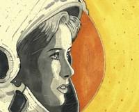 Lady Astronaut Fine Art Print