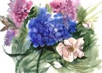 Watercolor Garden II Fine Art Print