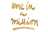 Million On White Fine Art Print