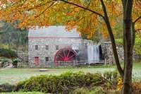 Autumn at the Grist Mill Fine Art Print