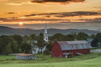 A Farm and A Prayer Fine Art Print