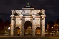 Arc de Triomphe du Carrousel Fine Art Print