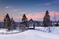 Snow at the Bridge Fine Art Print